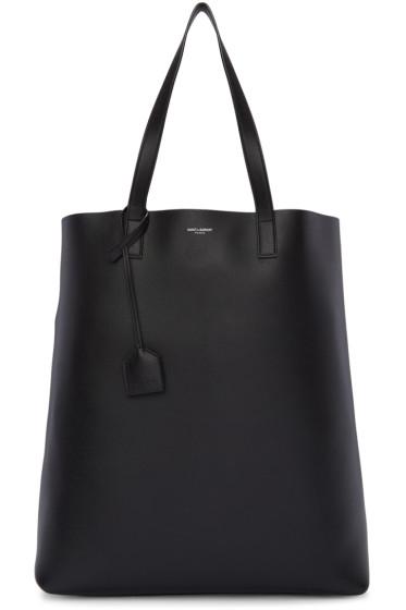 Saint Laurent - Black Shopping Tote Bag