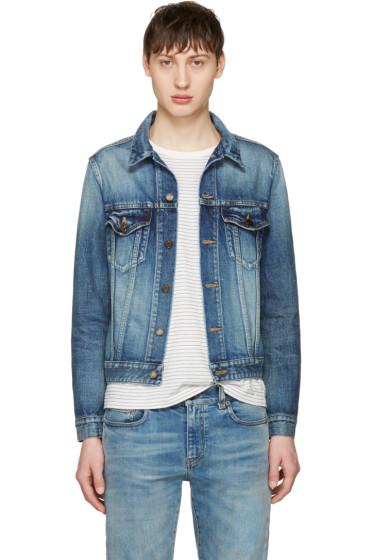 Saint Laurent - Blue Denim Jacket