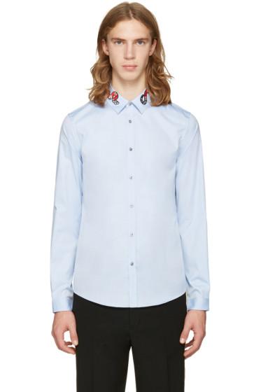 Gucci - Blue Snake Duke Shirt
