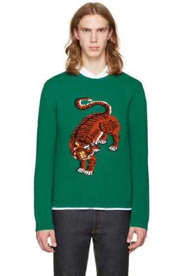 Gucci - Green Tiger Sweater