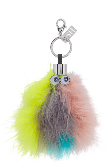 Sophie Hulme - Multicolor Feather Willow Keychain