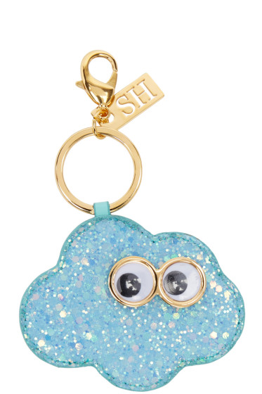 Sophie Hulme - SSENSE Exclusive Blue 'Clive At Night' Keychain