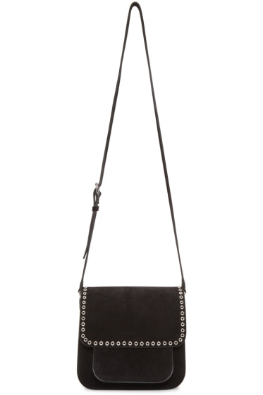 Isabel Marant - Black Suede Mela Bag