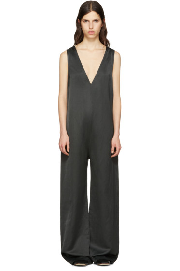 Nomia - Green Oversized V-Neck Jumpsuit