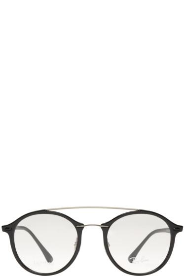 Ray-Ban - Black Double Bridge Glasses