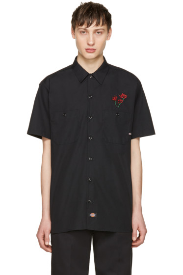 Alyx - Black fragment Edition Dickies Shirt