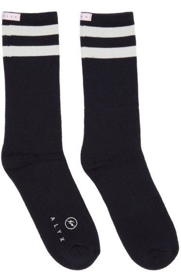 Alyx - Navy fragment Edition Socks