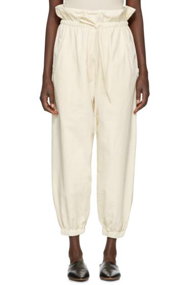 Lauren Manoogian - Off-White Lantern Trousers