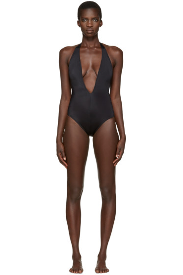 Solid & Striped - Black The Willow Swimsuit