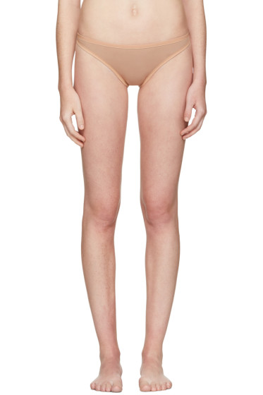Land of Women - Tan Mesh Thong