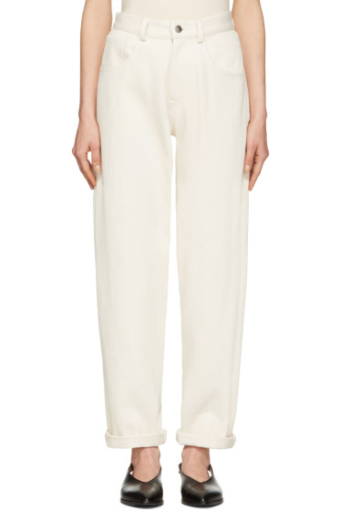 Moderne - Ivory Painter Jeans