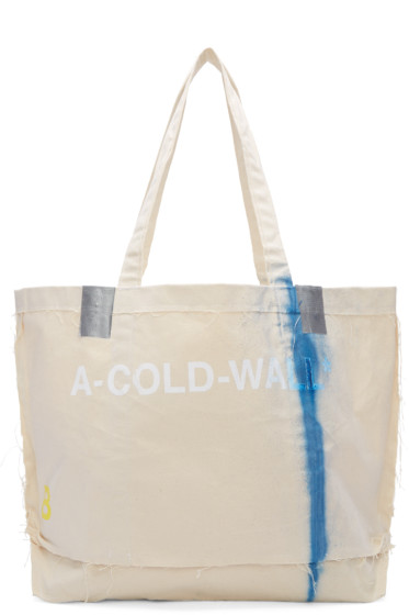 A-Cold-Wall* - Beige Industrial Cement Bag