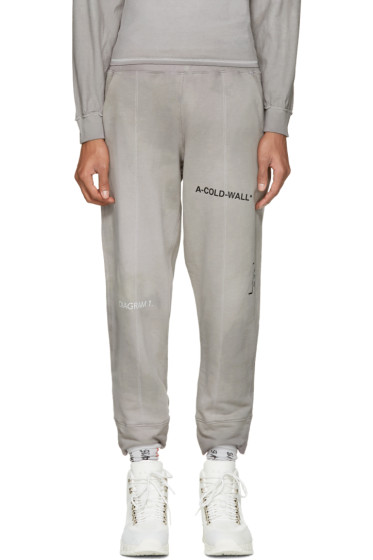 A-Cold-Wall* - Reversible Grey The Meeting Seamline Track Pants