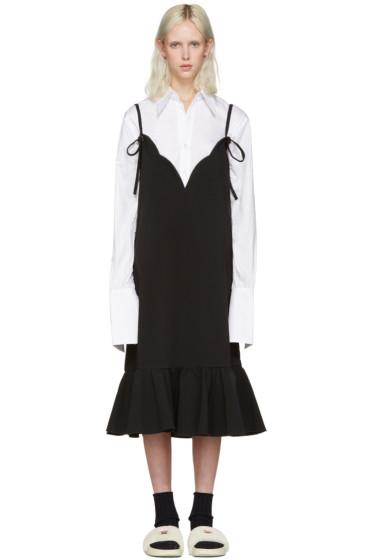 Shushu/Tong - Black Ruffles Dress