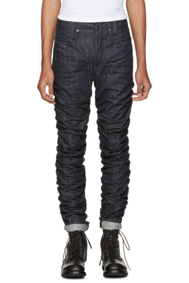 Raw Research - Indigo Staq 3D Tapered Jeans