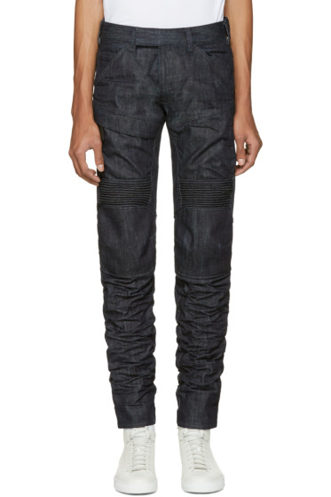 Raw Research - Indigo 5620 Motion 3D Tapered Jeans