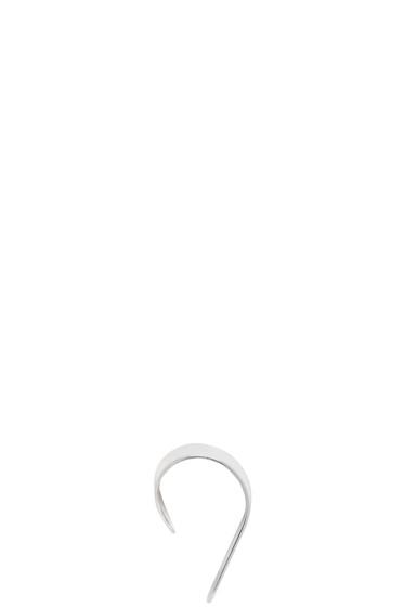 Saskia Diez - Silver Stripe Down Ear Cuff