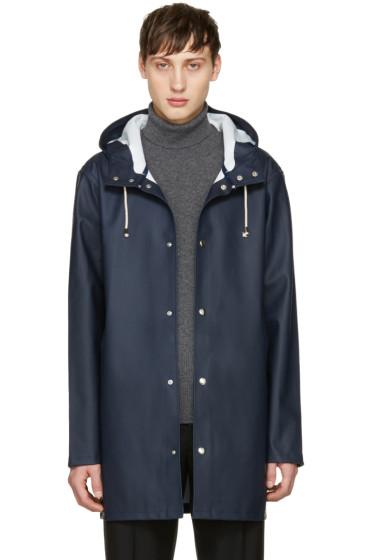 Stutterheim - Navy Stockholm Raincoat