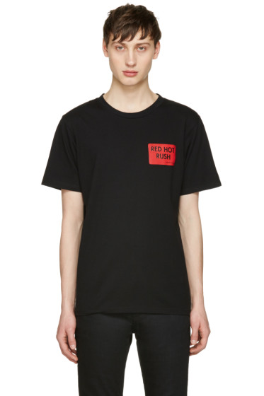 Resort Corps - Black 'Red Hot Rush' T-Shirt