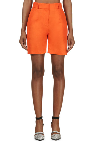Damir Doma - Orange Wide-Leg Prao Shorts