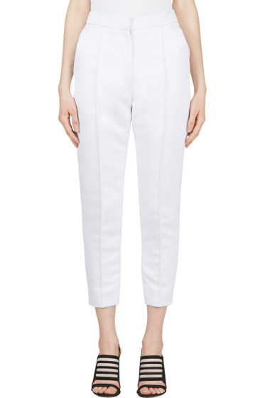 Roksanda - Pale Lavender Cropped Hedworth Trousers