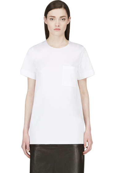 Roksanda - White Silk Panel Blouse