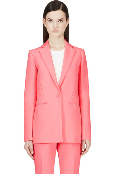 Cédric Charlier - Pink Long Blazer