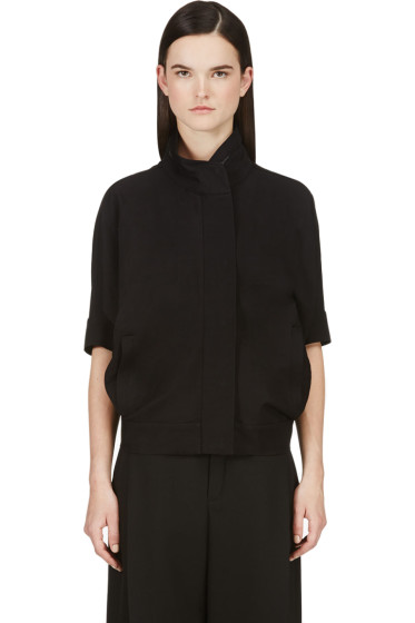 Calvin Klein Collection - Black Dolman Sleeve Jacket