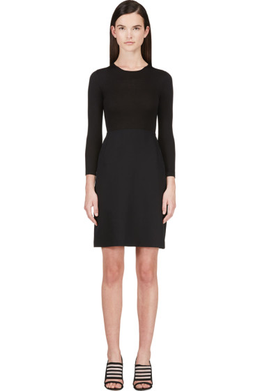 Calvin Klein Collection - Black Combo Tay Bis Dress