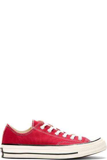 Converse Premium Chuck Taylor - Burgundy Red Chuck Taylor All Star '70 Sneakers