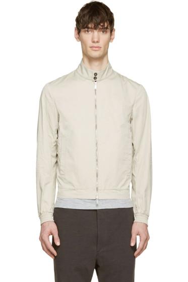 Dsquared2 - Beige Cotton Light Summer Bomber Jacket