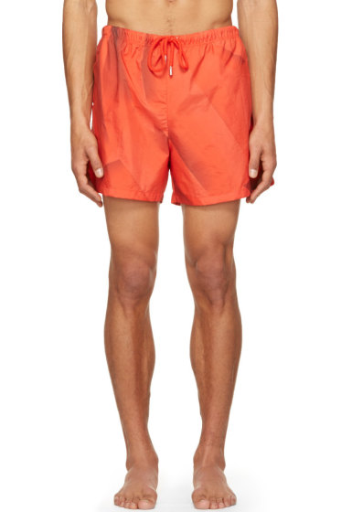 Christopher Kane - Red Page Swim Shorts