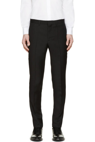 Givenchy - Black Keyring Accent Trousers