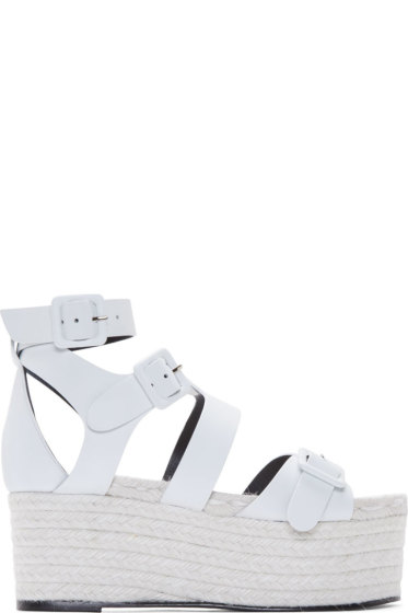 Pierre Hardy - White Casual Platform Sandals