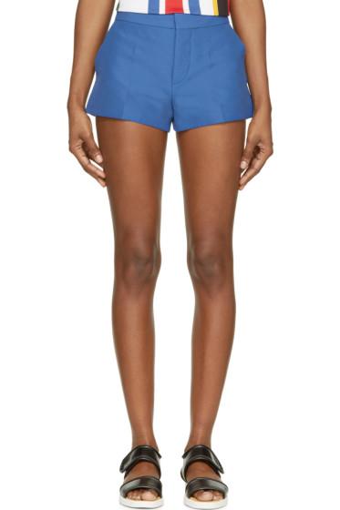 Marni - Mazarine Blue Cotton Shorts