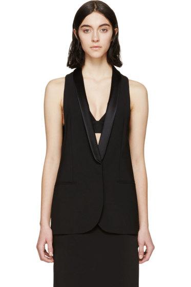 Altuzarra - Black Wool Murano Vest