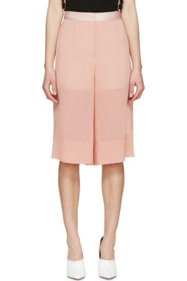 Cédric Charlier - Pink Sheer Hybrid Culottes