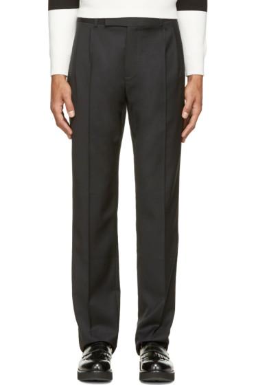 J.W.Anderson - Black Wool Classic Trousers