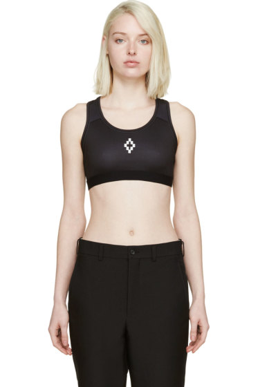 Marcelo Burlon County of Milan - Black Cruz Bra Top