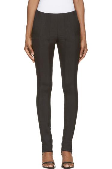 Paco Rabanne - Black Knit Trim Trousers