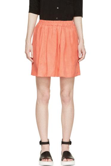 Won Hundred - Coral Tati Pocket Skirt