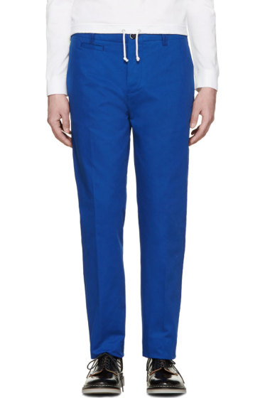OAMC - Blue Chino Trousers
