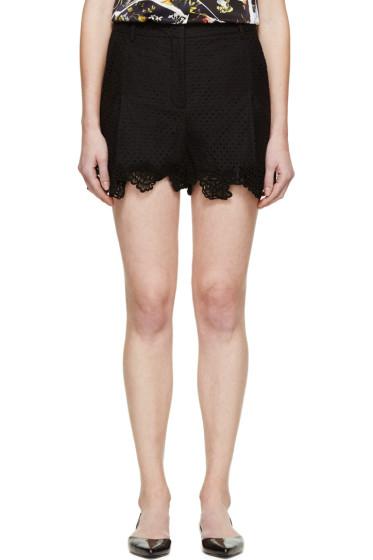 Erdem - Black Lace Tyra Shorts
