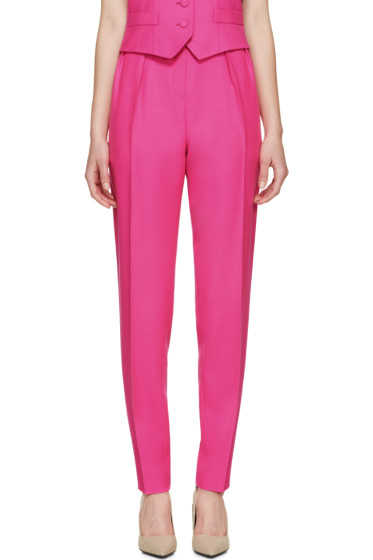 Pallas - Pink Wool Hypnos Trousers
