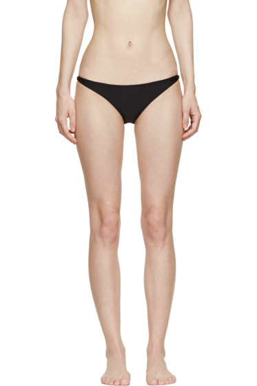 Osklen Praia - Black Brazilian Bikini Brief