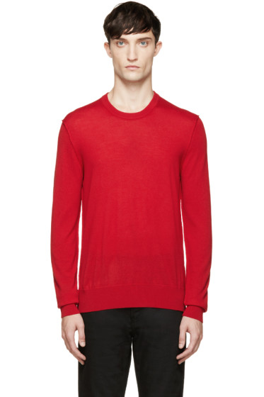 Dolce & Gabbana - Red Wool Sweater