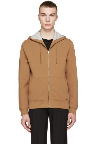 Marc by Marc Jacobs - Camel Zip-Up Hoodie