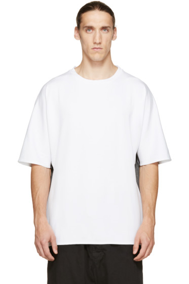 Public School - White & Grey Dolman T-Shirt