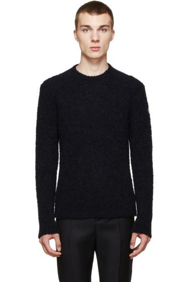 Moncler - Navy Wool Sweater