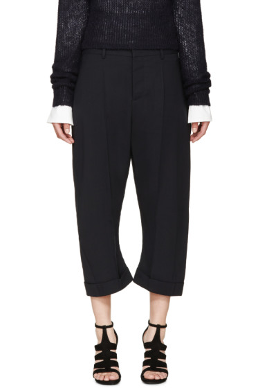 Dsquared2 - Navy Cropped Kawaii Trousers
